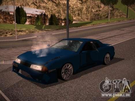 Elegy GunkinModding pour GTA San Andreas vue de droite