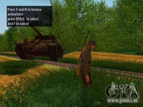 French soldiers pour GTA San Andreas quatrième écran