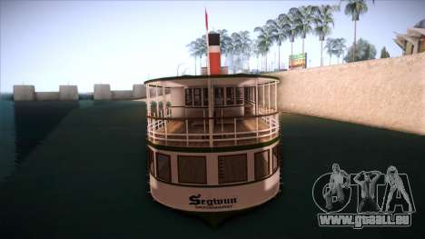 Indonesia Ferri pour GTA San Andreas sur la vue arrière gauche