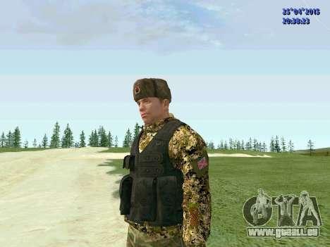 Combattant de l'APR pour GTA San Andreas deuxième écran