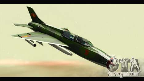 Mikoyan-Gurevich MIG-21UM Vietnam Air Force v2.0 pour GTA San Andreas