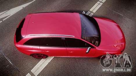 Audi S4 Avant 2013 für GTA 4 rechte Ansicht