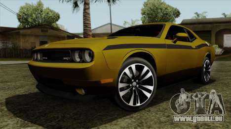 Dodge Challenger Yellow Jacket pour GTA San Andreas