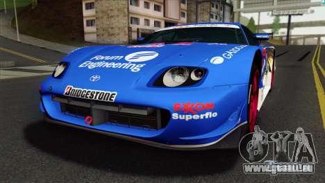 Toyota Supra 2005 EXXON SuperFlo für GTA San Andreas