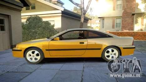 Opel Calibra v2 pour GTA 4 est une gauche