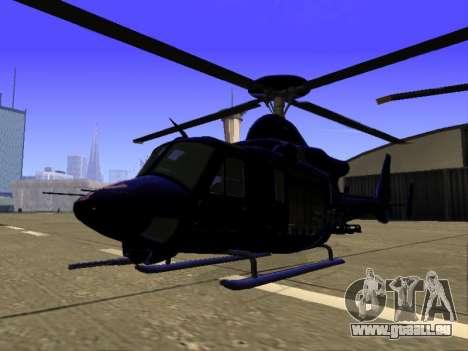GTA 5 Valkyrie pour GTA San Andreas vue de dessus