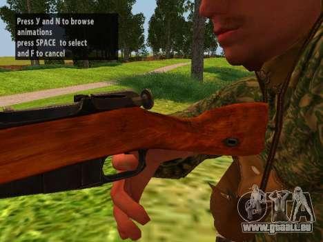 Les soldats de l'armée rouge pour GTA San Andreas quatrième écran