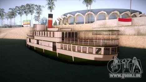 Indonesia Ferri pour GTA San Andreas laissé vue