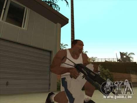 Russe des mitraillettes pour GTA San Andreas troisième écran