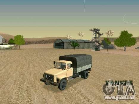 GAZ 3309 für GTA San Andreas Seitenansicht