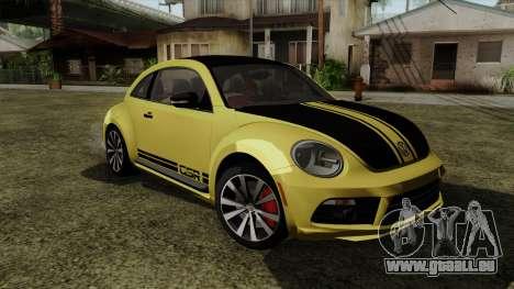 Volkswagen New Beetle 2014 GSR für GTA San Andreas