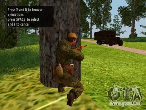 Les soldats de l'armée rouge pour GTA San Andreas troisième écran