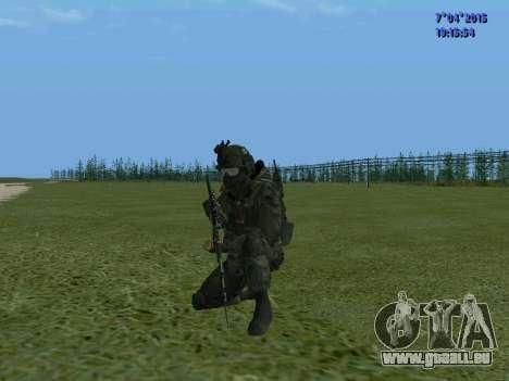 SWAT pour GTA San Andreas quatrième écran