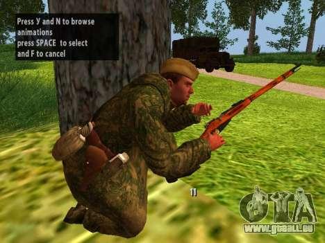 Les soldats de l'armée rouge pour GTA San Andreas sixième écran
