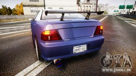 Dinka Chavos SXX v2.0 für GTA 4 hinten links Ansicht