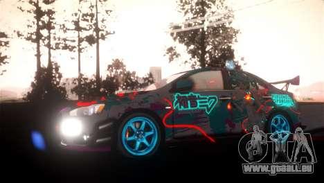 SPES ENB pour GTA San Andreas deuxième écran
