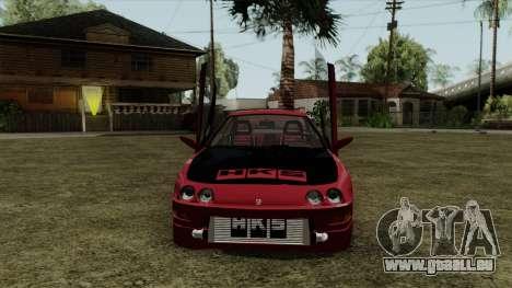 Honda Integra pour GTA San Andreas sur la vue arrière gauche