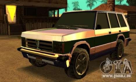 Luni Huntley für GTA San Andreas Innen