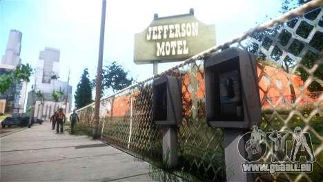 SPES ENB pour GTA San Andreas troisième écran
