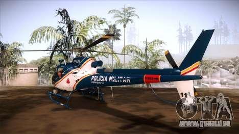 Pegasus 11 PMMG pour GTA San Andreas laissé vue