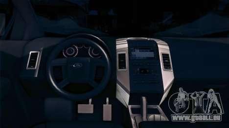 Ford Edge COPE - PCSC für GTA San Andreas zurück linke Ansicht