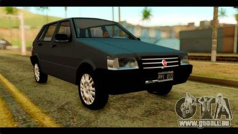 Fiat Uno Fire Mille für GTA San Andreas