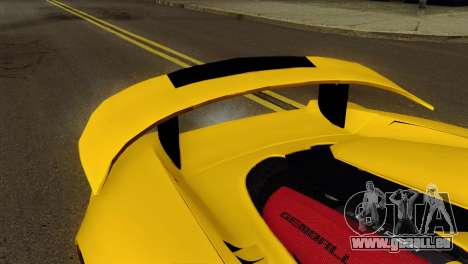 Gemballa Mirage GT v2 Windows Down für GTA San Andreas rechten Ansicht