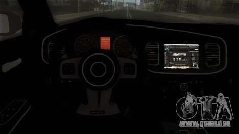 Dodge Charger 2013 Policia Federal Mexico pour GTA San Andreas vue de droite