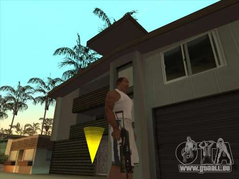 Russe des mitraillettes pour GTA San Andreas deuxième écran