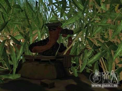 Panther für GTA San Andreas Innen