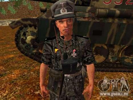 Deutsche Panzer-Kommandant für GTA San Andreas