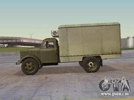 GAZ 51 Vneshtorg pour GTA San Andreas laissé vue