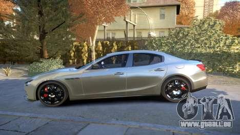 Maserati Ghibli 2014 v1.0 für GTA 4 linke Ansicht
