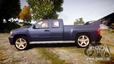 Chevrolet Silverado 1500 LT Extended Cab wheels2 für GTA 4 linke Ansicht