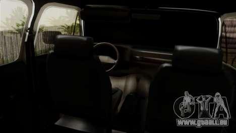 Chevrolet Suburban Dually pour GTA San Andreas sur la vue arrière gauche