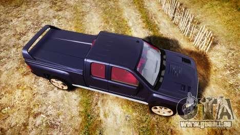 Chevrolet Silverado 1500 LT Extended Cab wheels2 für GTA 4 rechte Ansicht