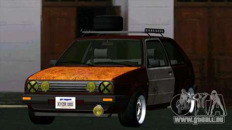 Volkswagen Golf II Rat Style pour GTA San Andreas