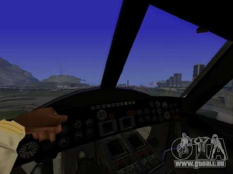 GTA 5 Valkyrie für GTA San Andreas rechten Ansicht
