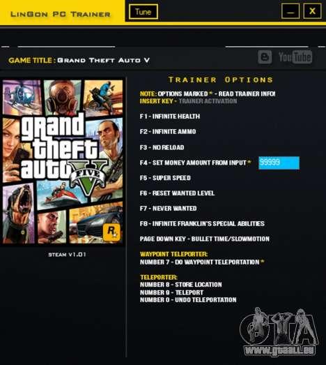 GTA V Formateur pour GTA 5