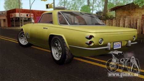 GTA 5 Lampadati Casco für GTA San Andreas linke Ansicht