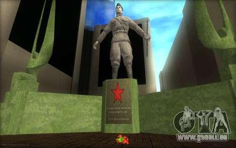 Das Denkmal für den Tag des Sieges für GTA San Andreas