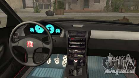 Honda Integra pour GTA San Andreas vue de droite