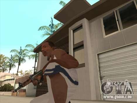 Russischen Maschinenpistolen für GTA San Andreas fünften Screenshot
