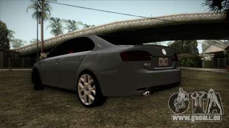 Volkswagen Jetta GLI Edition 30 2014 pour GTA San Andreas laissé vue