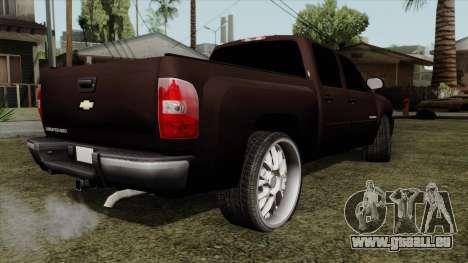 Chevrolet Silverado für GTA San Andreas linke Ansicht