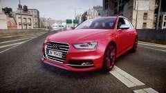 Audi S4 Avant 2013 pour GTA 4