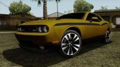Dodge Challenger Yellow Jacket