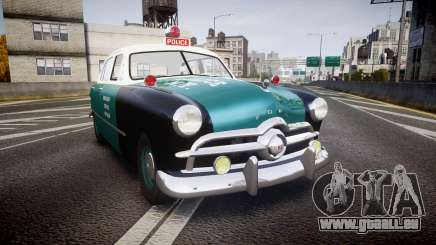 Ford Custom Deluxe Fordor 1949 New York Police pour GTA 4
