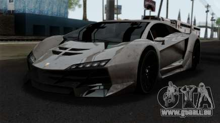 GTA 5 Pegassi Zentorno SA Style pour GTA San Andreas