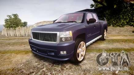 Chevrolet Silverado 1500 LT Extended Cab wheels2 für GTA 4